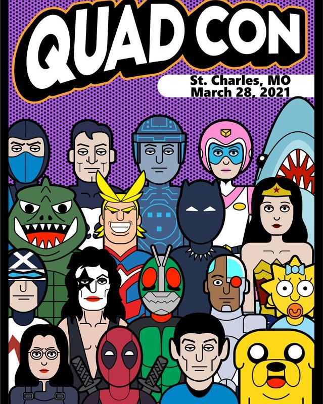 St. Charles Quad Con Comic & Toy Show 2021